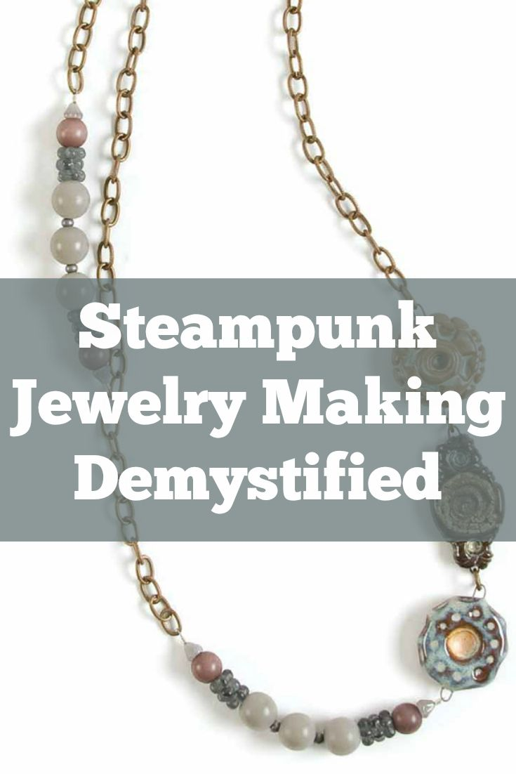 Learn how to string beads with these 5 FREE beading projects! #beading #steampunk
