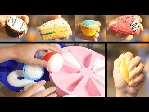 How to Make Homemade Squishies! - YouTube