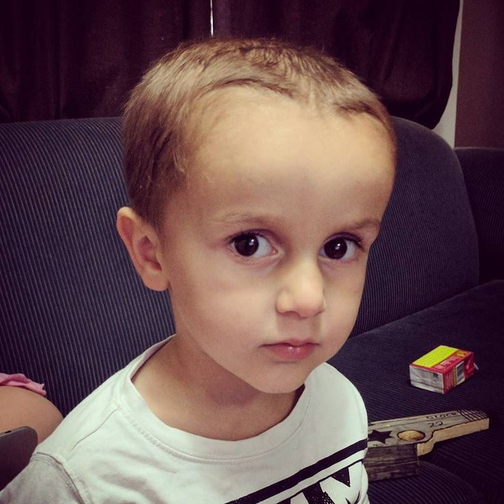 This boy of mine post haircut