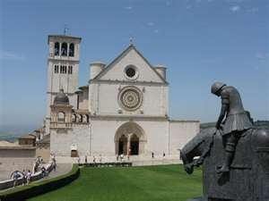 Assisi Cathedral, Assisi Italy