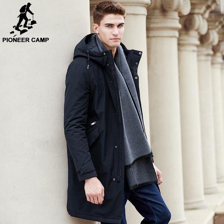 <b>New</b> arrival Spring jacket men clothing <b>cotton</b> thick long coat male ...