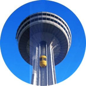 Skylon Tower is one of the popular Niagara Falls attractions offering visitors exquisite Niagara Falls dining, shopping, entertainment and more!