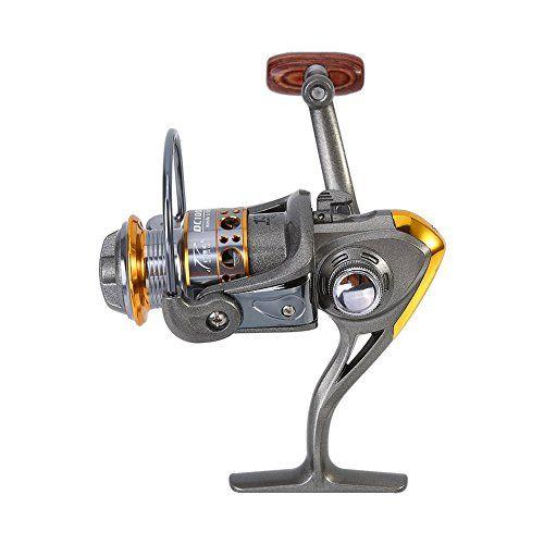 Comprar carrete de spinning Carrete de Pesca Spinning de Metal Rueda de Pesca de Carpa 13 Ejes 1000-7000 Series con 5.2: 1 Relación de Engranajes para Pesca en Agua Dulce Agua Salada ( Design : 7000 Series )