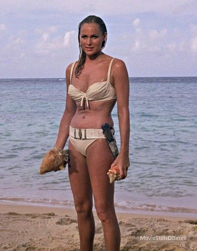 Dr. No - Publicity still of Ursula Andress
