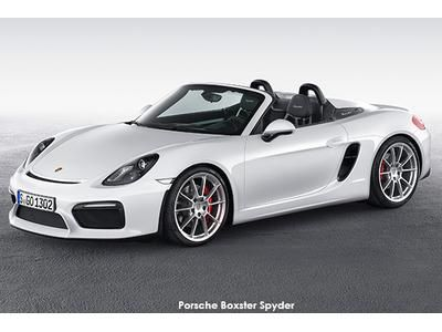 New York International Auto Show 2015: World premiere of the Boxster Spyder. Click here for more!!!