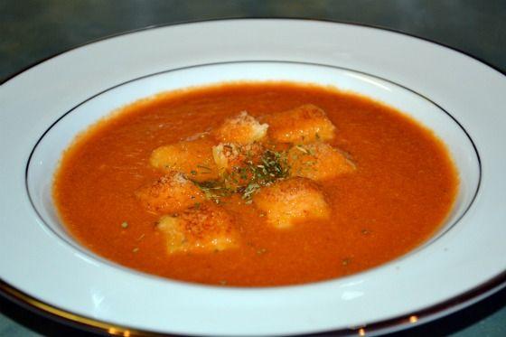 Spicy Tomato Soup | Soups & Stews | Pinterest