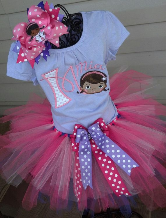 Hey, I found this really awesome Etsy listing at https://www.etsy.com/listing/206798972/doc-mcstuffins-tutu-outfit