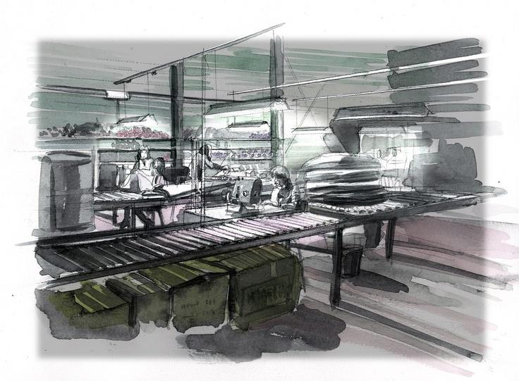 sfeerbeeld fabriek
