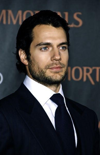 Henry Cavill. New Superman, finally excited to see a Superman flick, he's not my favorite hero.
