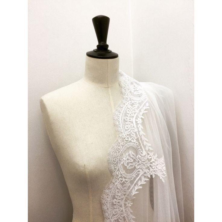 #veil detail! #CostarellosBride #atelier #craftsmanship #madeingreece #ohsochic #instabride