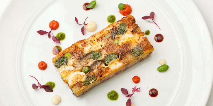 This impressive dish from Francesco Mazzei is definitely something different to your everyday lasagne - quail eggs, nettle lasagne sheets an...
