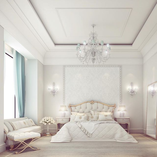 Bedroom suite design - Doha private palace - Qatar