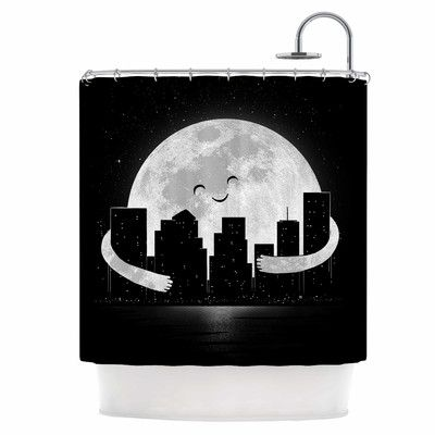 East Urban Home Goodnight Single Shower Curtain