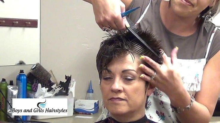 How To Cut and Style Ladies Mohawk Hairstyle