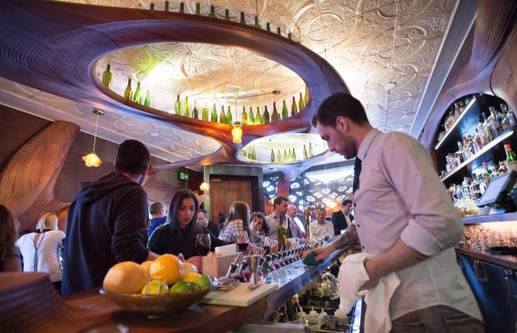 What people really want to know is whether Bar Raval is any good. The answer is yes, absolutely, emphatically