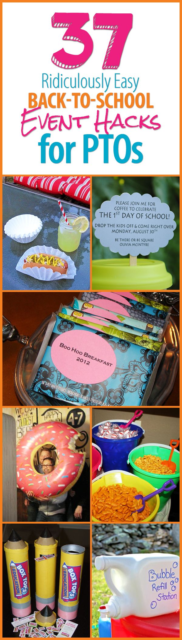 37 Ridiculously Easy Back-to-School Event Hacks for PTOs