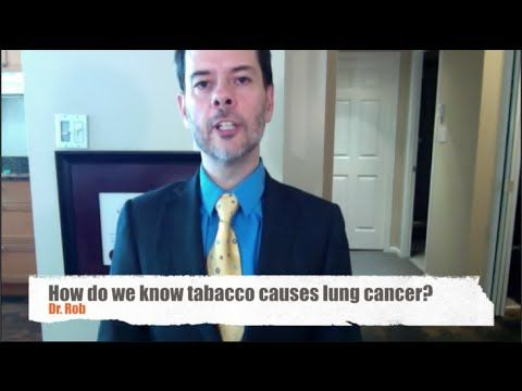 How do We Know Tobacco Causes Cancer? - WATCH VIDEO HERE -> http://bestcancer.solutions/how-do-we-know-tobacco-causes-cancer    *** is smoking causes cancer ***   We've never actually run a randomized trial of smoking. Video credits to the YouTube channel owner