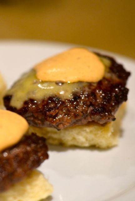 Superbowl Snacks: Slider Burgers