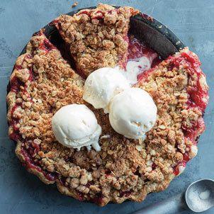 Strawberry-Rhubarb Crumble Pie Recipe   Williams Sonoma Taste http://blog.williams-sonoma.com/strawberry-rhubarb-crumble-pie/?utm_campaign=crowdfire&utm_content=crowdfire&utm_medium=social&utm_source=pinterest