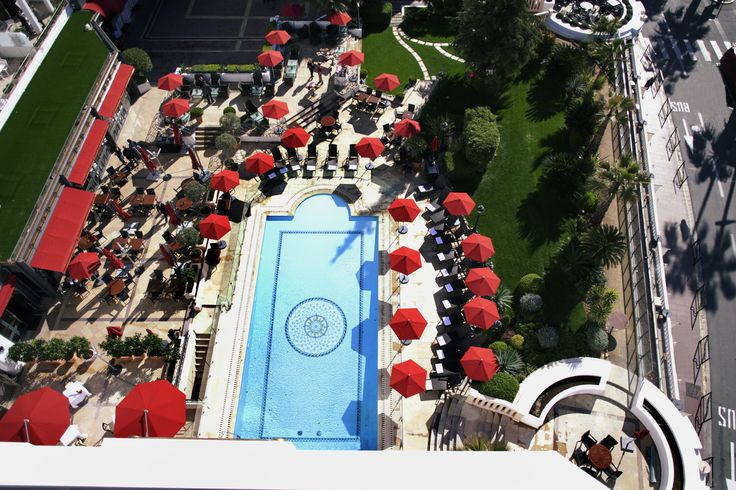 View of the Fouquet's Cannes !