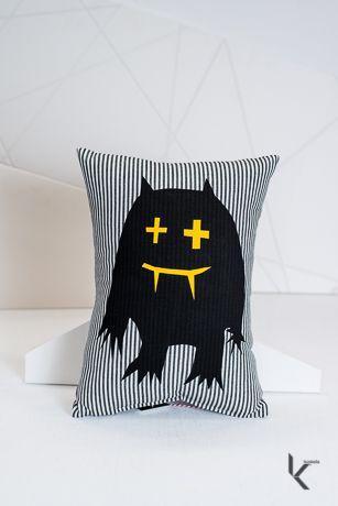 Koskela's Christmas Gifts: For the Child // Monster Stripe Cushion