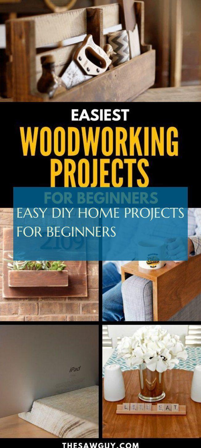 Easy Diy Home Projects For Beginners Einfache Heimwerkerprojekte Fur Anfange Anfange Beginners Diy Easy Einfache Fur Heimwerkerprojekte Home Pro Easy Diy Beginner Woodworking Projects Easy Woodworking Projects