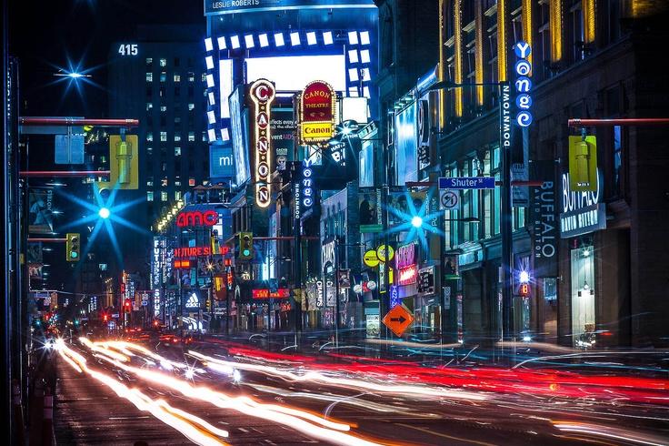 Young Street, Toronto, Ontario, Canada
