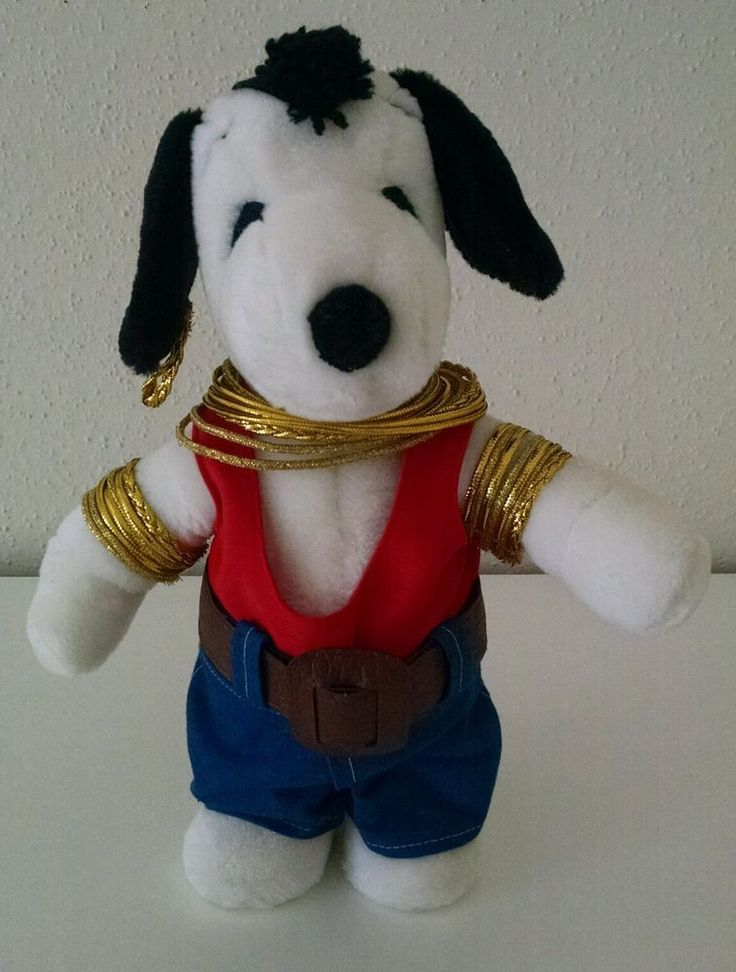 """13"""" Mr. T Snoopy Plush Peanuts Toy Syndicate Little Buddy Vintage #Syndicate"""