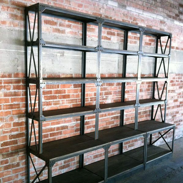 Ironworker Shelf | Vintage Industrial Furniture