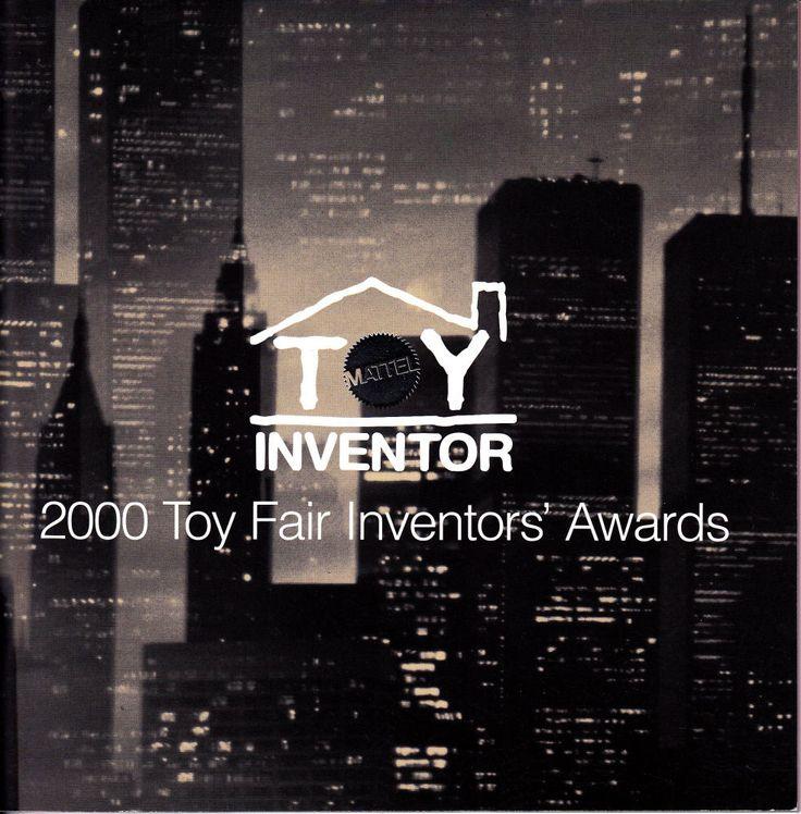 Mattel Toy Inventor 2000 Toy Fair Inventors' Awards Brochure