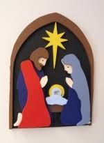 Scrollsaw - Christmas Nativity at WoodworkersWorkshop.com
