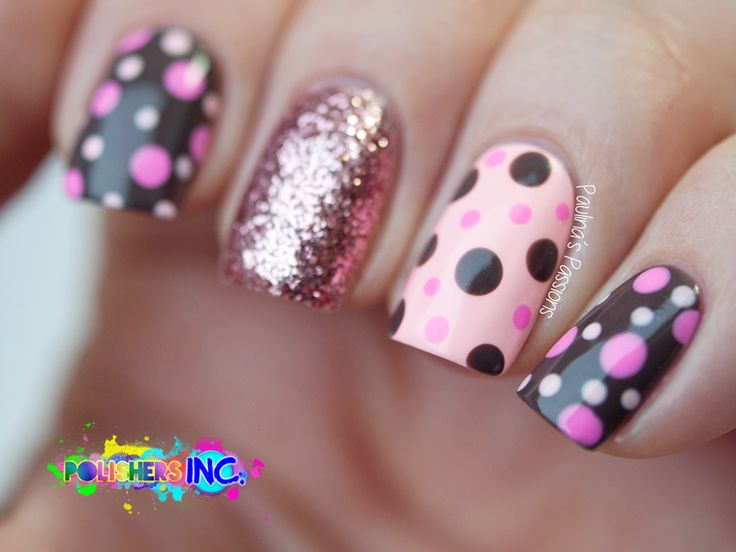 2662 best polka dot nails images on pinterest cute nails nail colorful dotticure polka dots nails made simple prinsesfo Choice Image
