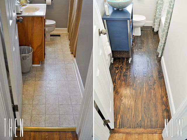 1000 images about beautiful matters on pinterest double - Diy bathroom remodel before and after ...
