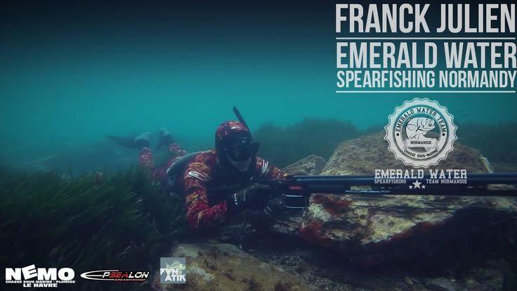Chasse sous marine en Normandie. Franck Julien