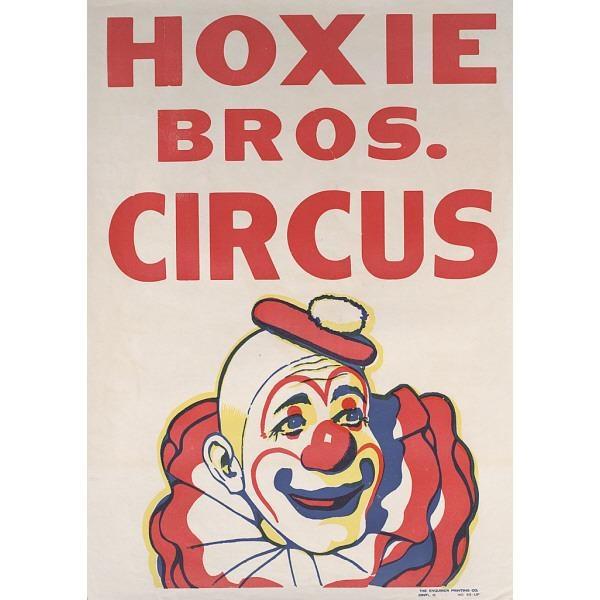 Circus Clown Vintage PostersCircus