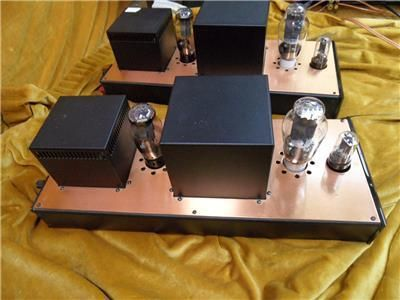 Audio Note Quest 300B Monoblock Valve Amplifiers, used, for sale, secondhand