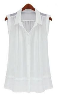Mujeres y alfileres: Camisas de gasa 2013