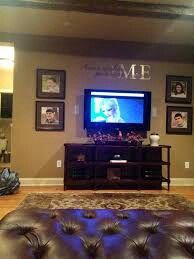 flat screen tv furniture ideas. how to style wall around flat screen tv furniture ideas