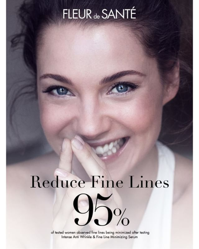 95% of Women Observed Fine Lines Being Minimized After Testing Intense Anti Wrinkle & Fine Line Minimizing Serum. We Invite you to read more here: www.fleurdesante.com