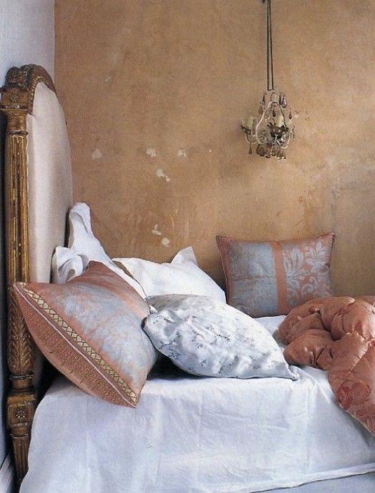 rustic bedroom | wall