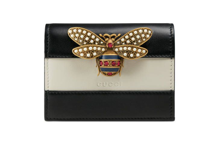 Queen Margaret leather card case