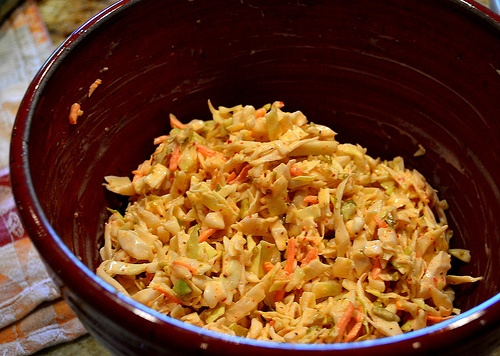 how to make dixie coleslaw