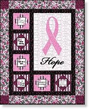 138 best Breast Cancer Awareness images on Pinterest | Cold ... : cancer quilts for sale - Adamdwight.com