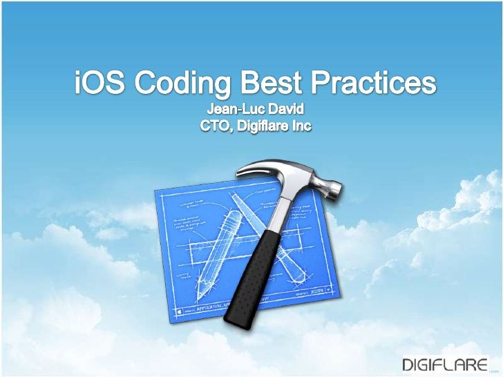 Best coding practices in iOS development