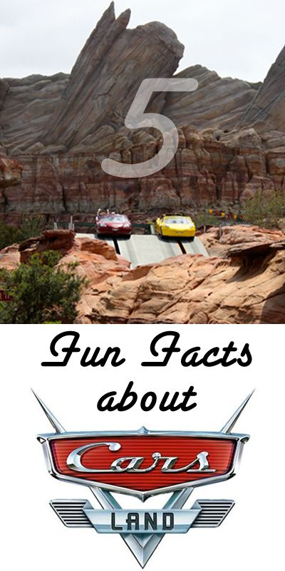 5 Fun Facts About Cars Land in Disneyland Resort