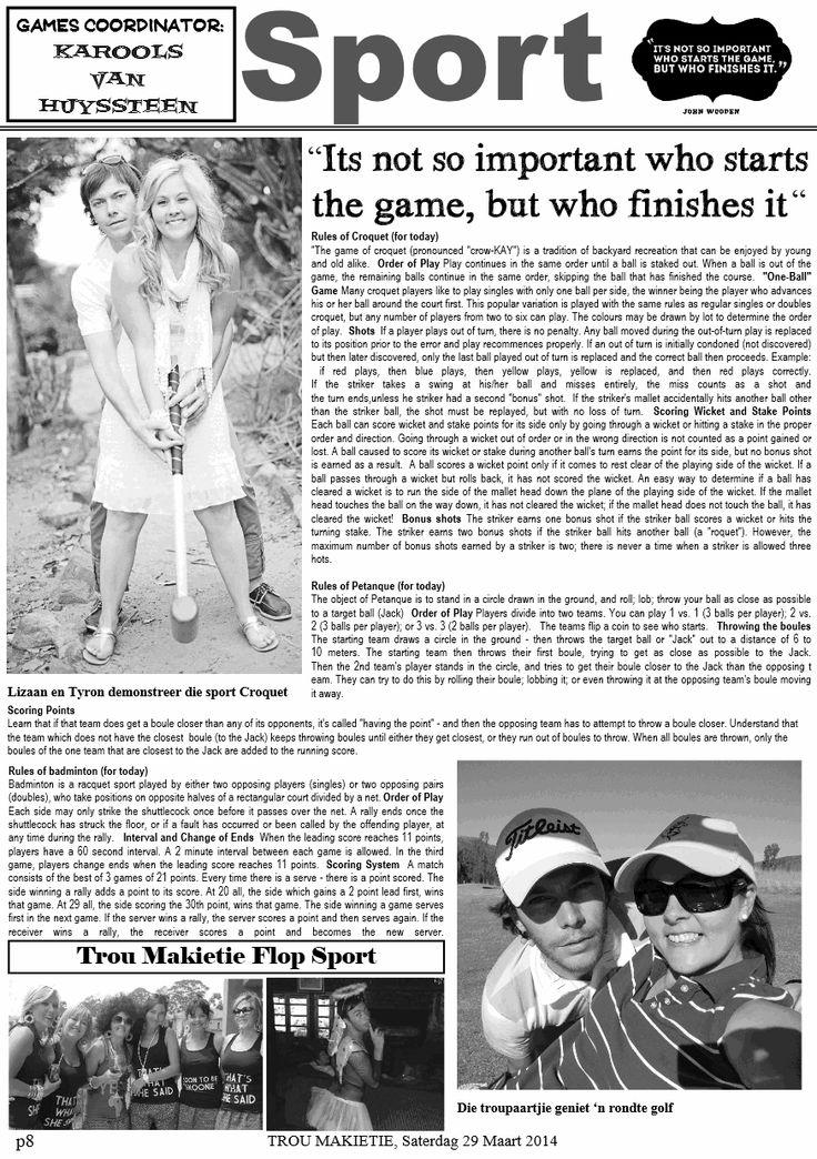Wedding News Paper