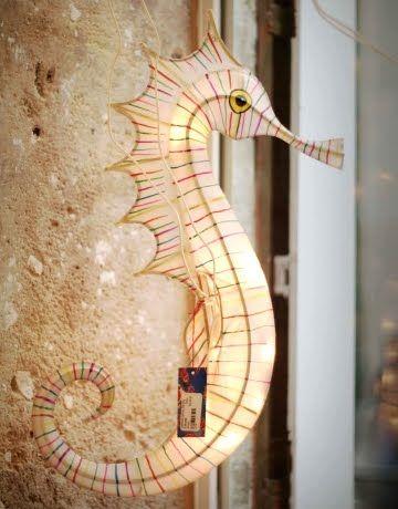 Seahorse light.