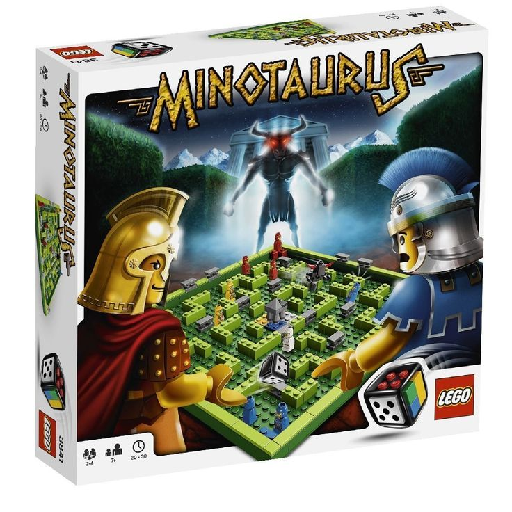 Lego Spiele 3841 - Minotaurus: Amazon.de: Spielzeug