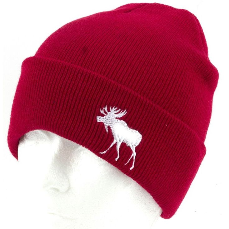 CANADA COLLECTION 2017 WINTER PREBOOK NEW ACCESSORIES HAT WHOLESALE RED