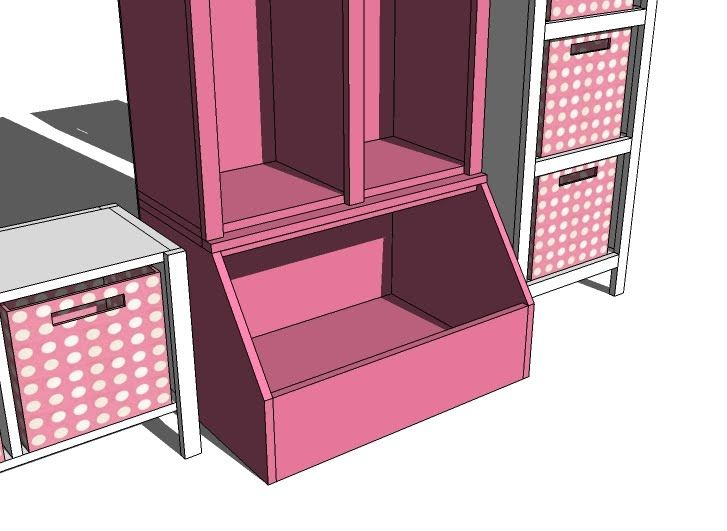 Ana White   Build a Store All Open Base For the Cube Collection   Free and Easy DIY Project and Furniture Plans